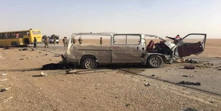 جان باختن 10 زائر ایرانی در حادثه تصادف در عراق