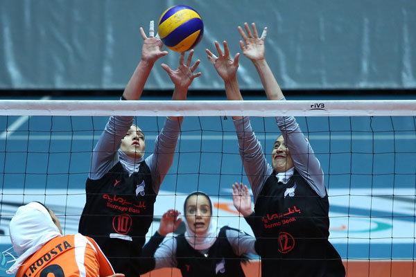 صعود والیبال زنان ایران در ردهبندی جهان